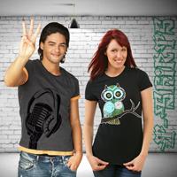 Textilveredelung, T-shirts bedrucken und sparen