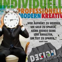Professionelle, modern und kreative Werbung